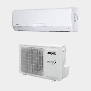 SE pompa di calore AERMEC C.T.TERMOIDRAULICA SRL